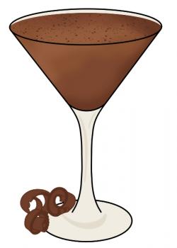 Almond Joy Martini